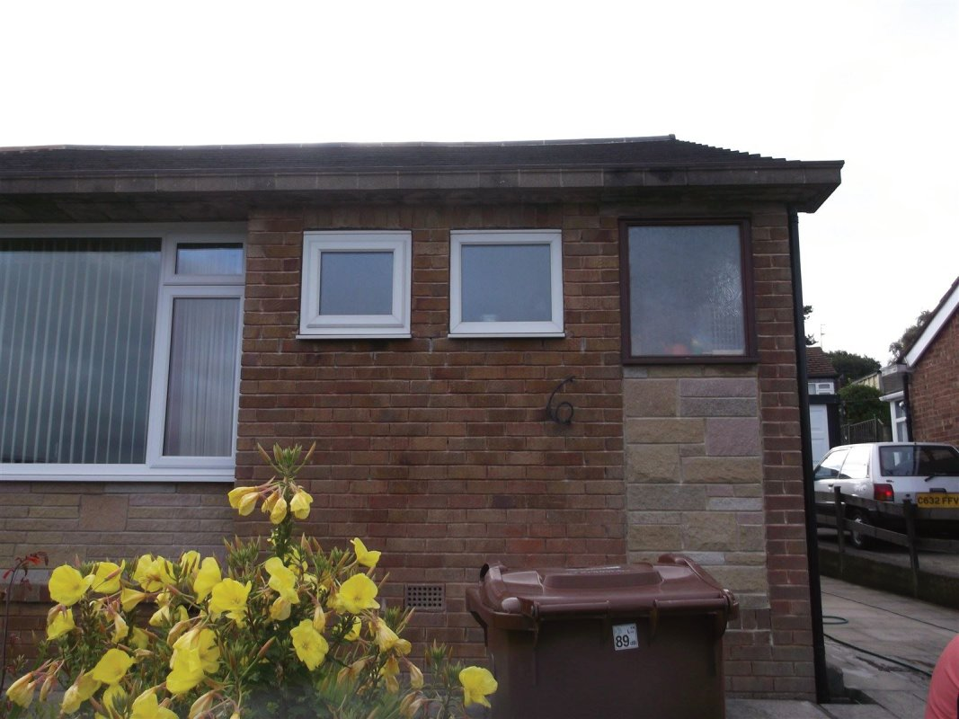 repointing of a bungalow in cookridge leeds
