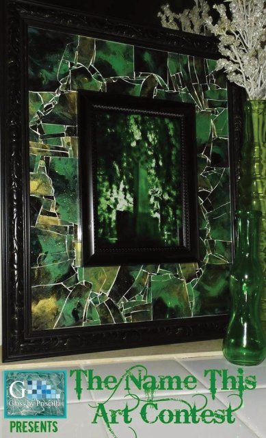 Glass art by Glass by Priscilla