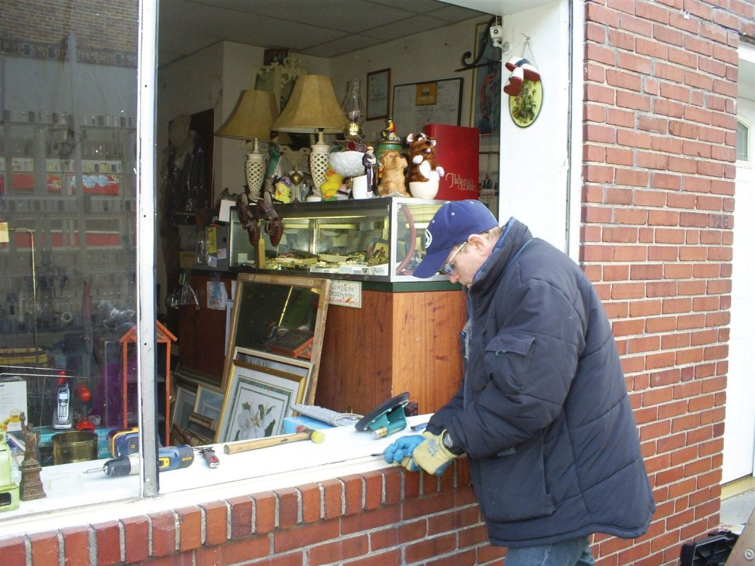 plate glass window repair