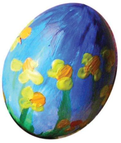 a daffodil egg. nog een paasei
