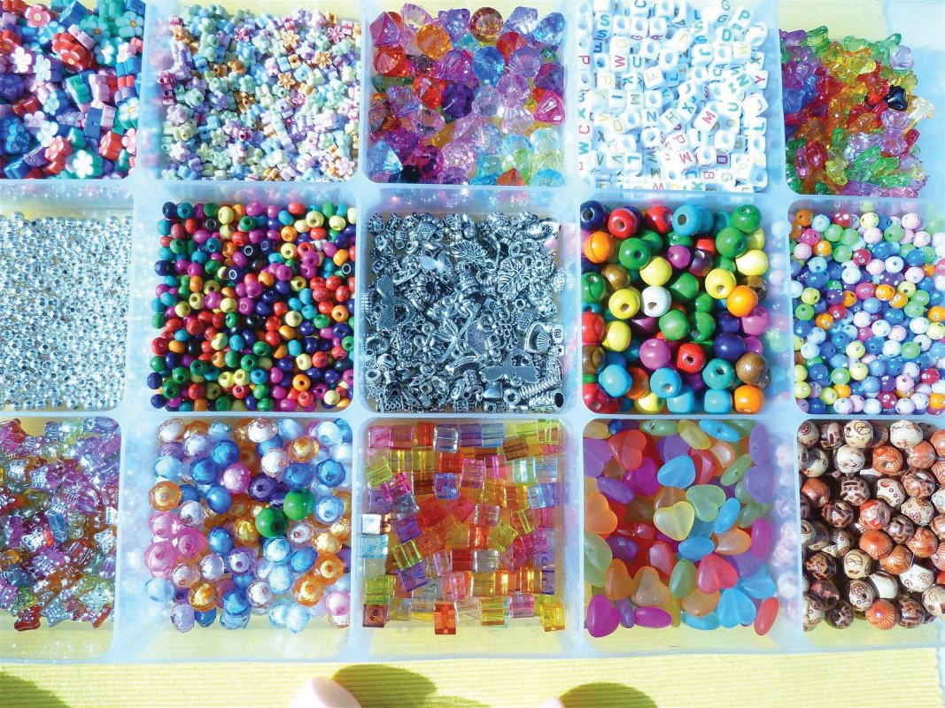 We sell loose beads too