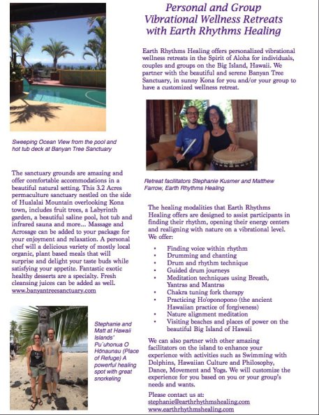 Hawaii Customized VIbrational Wellness Retreats