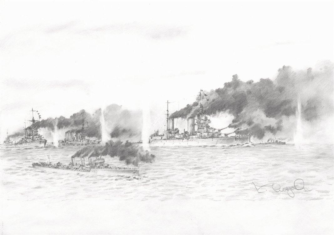 Jutland - The Big Cats Engage!