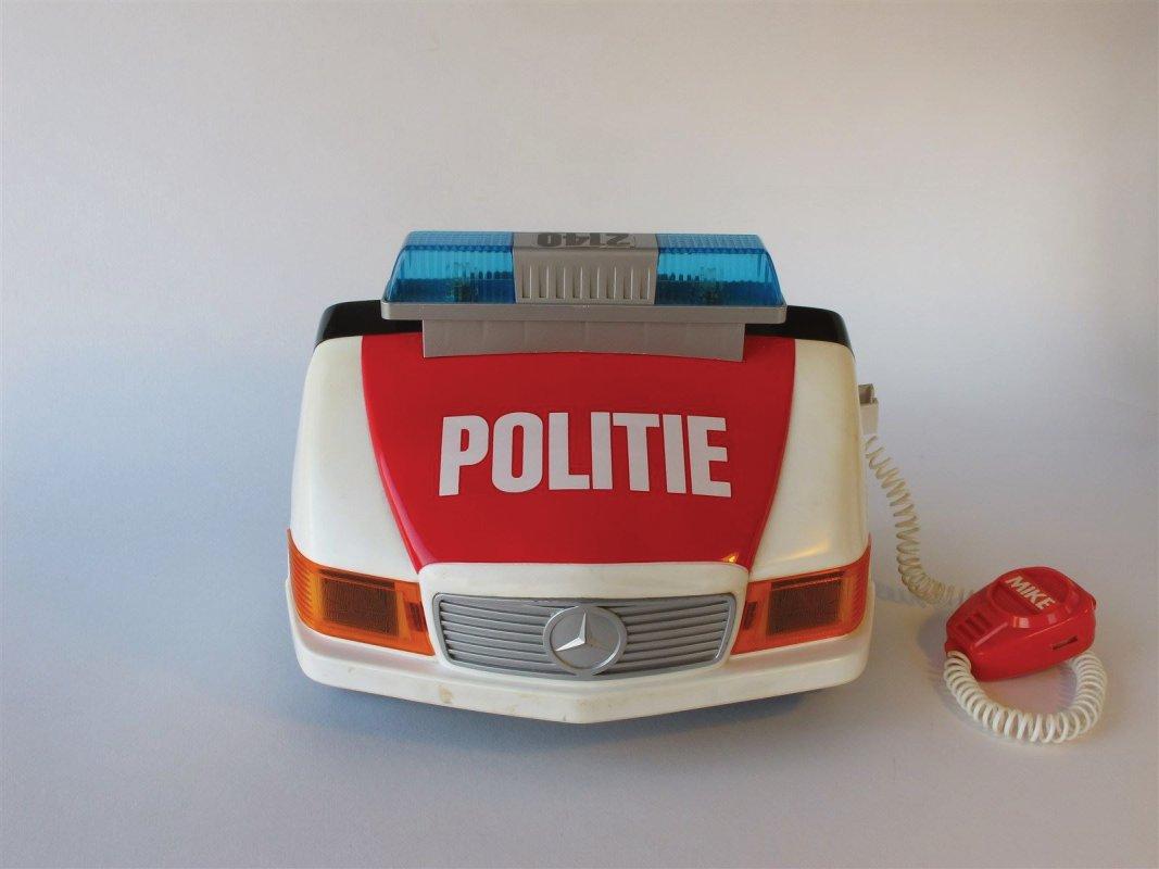 Tomy Police car cockpit
