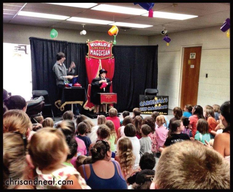 Fayetteville Kids Entertainers Magician Fayetteville NC
