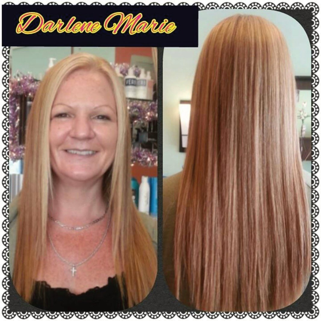 KC Color with a Keratin Express Blowout Trreatment