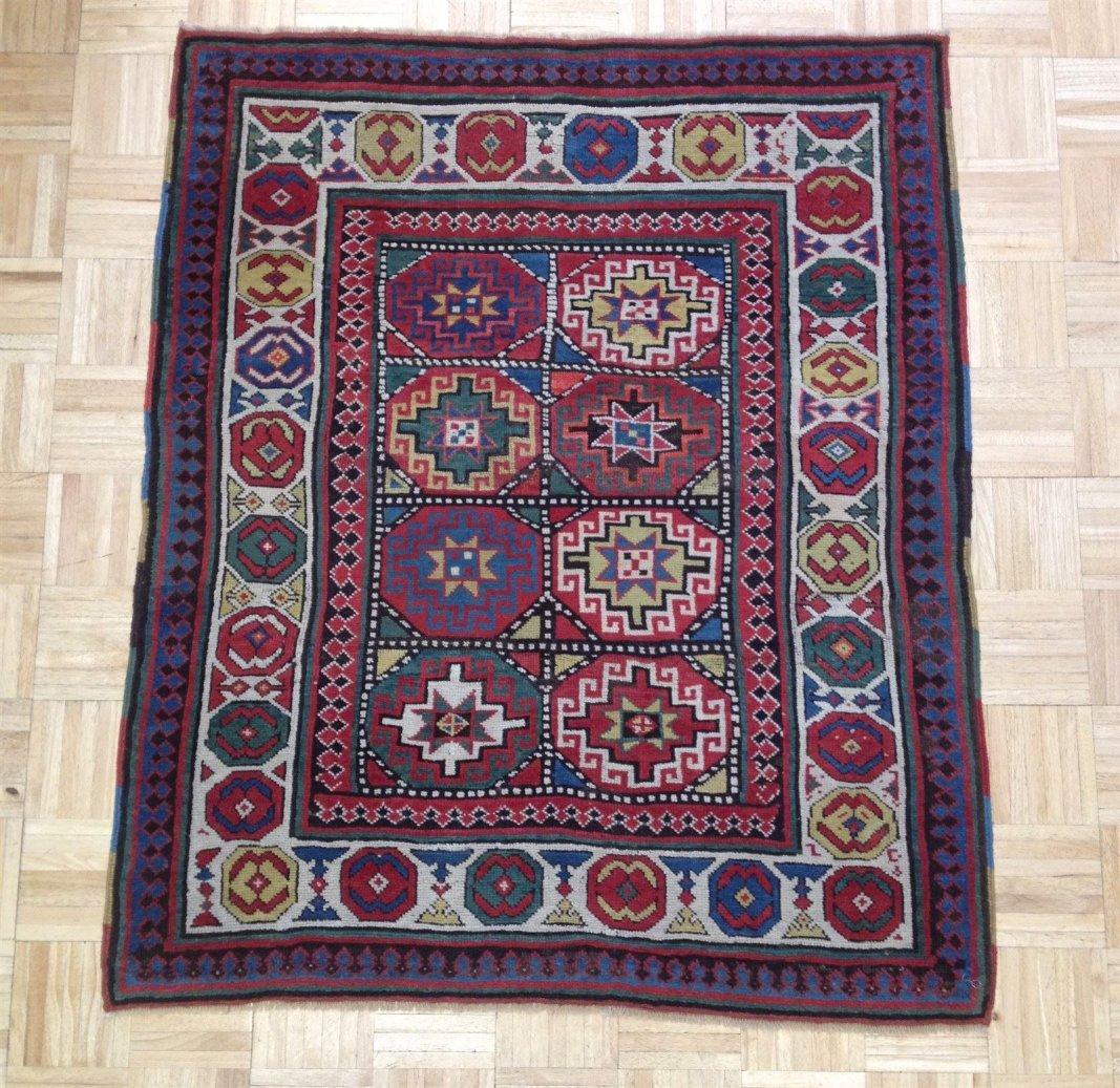 Antique Oriental Rug from the Mohgan Region