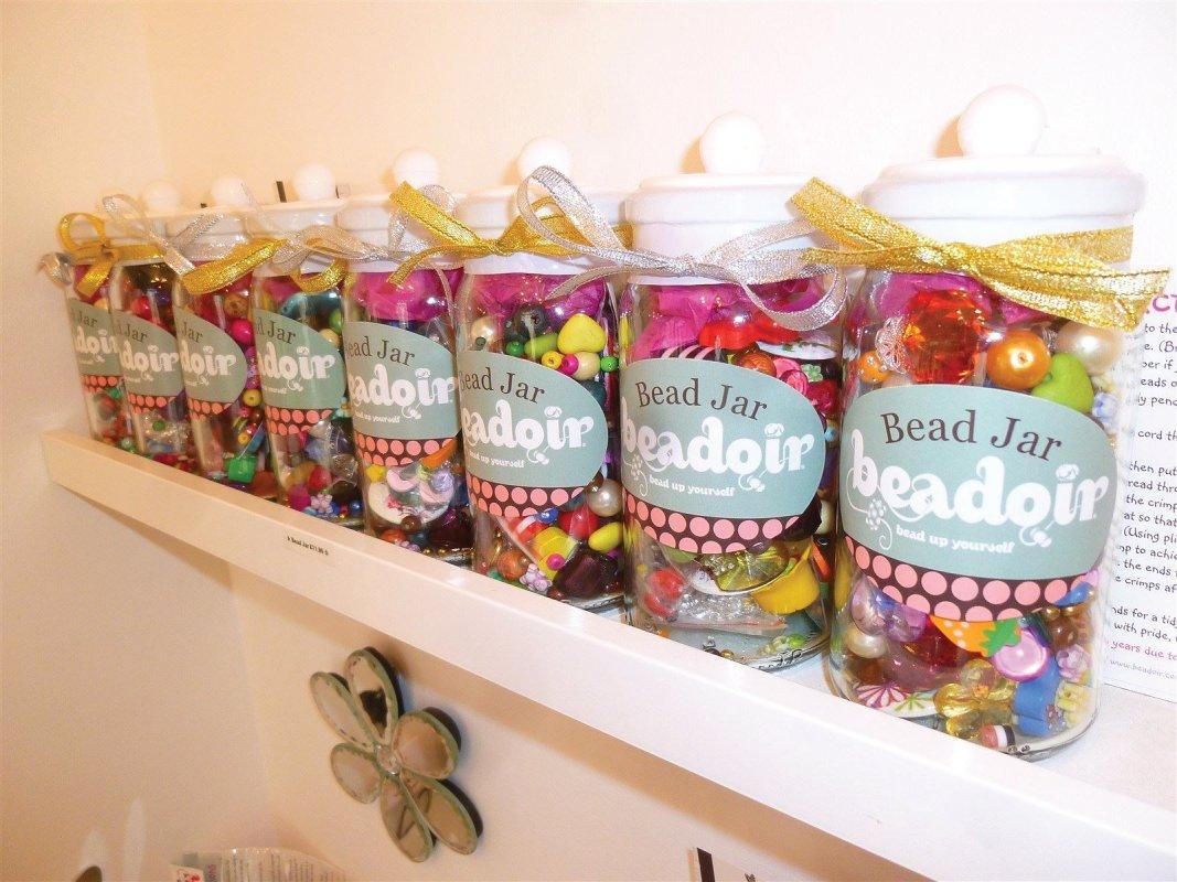 The Bead Jar from Beadoir