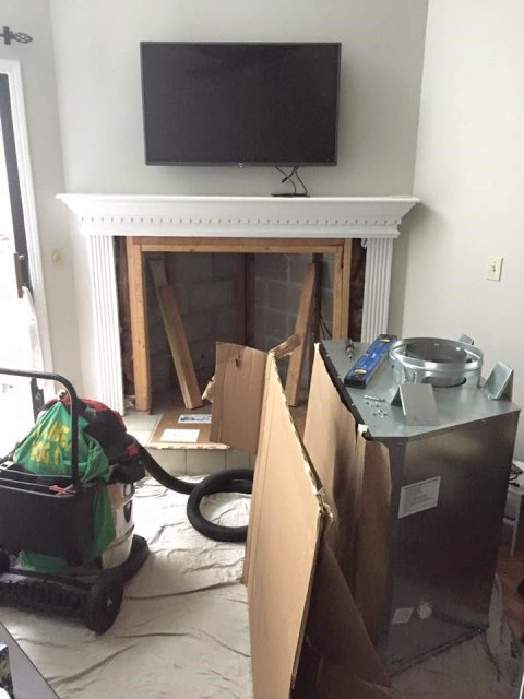 Jacksonville FL Fireplace Install, Fireplace Repair, Fireplace Service, Chimney Repair, Chimney Leak