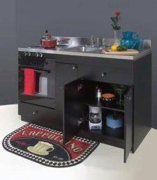 custom designed kitchenette