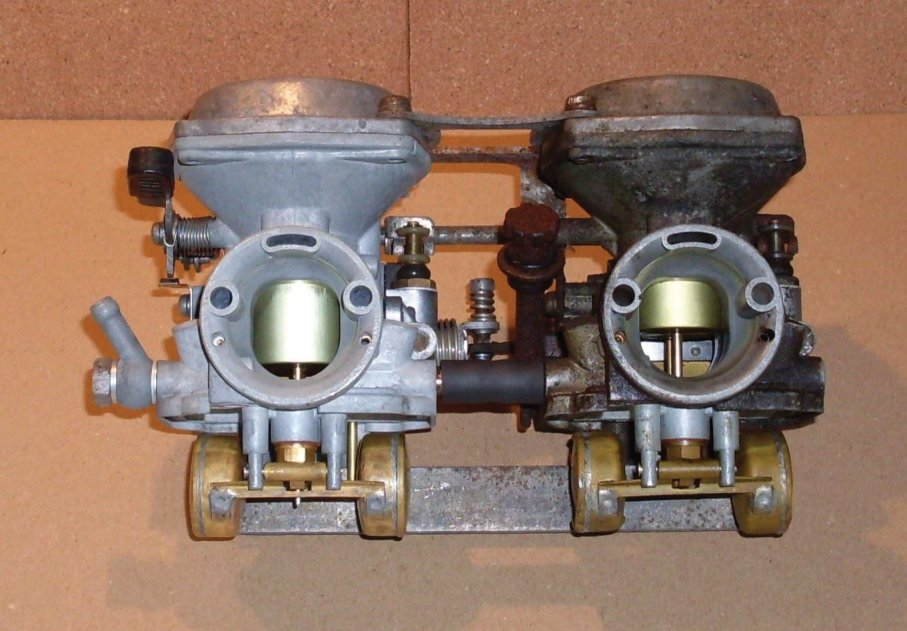 XS250 Special Carbs - Before/After