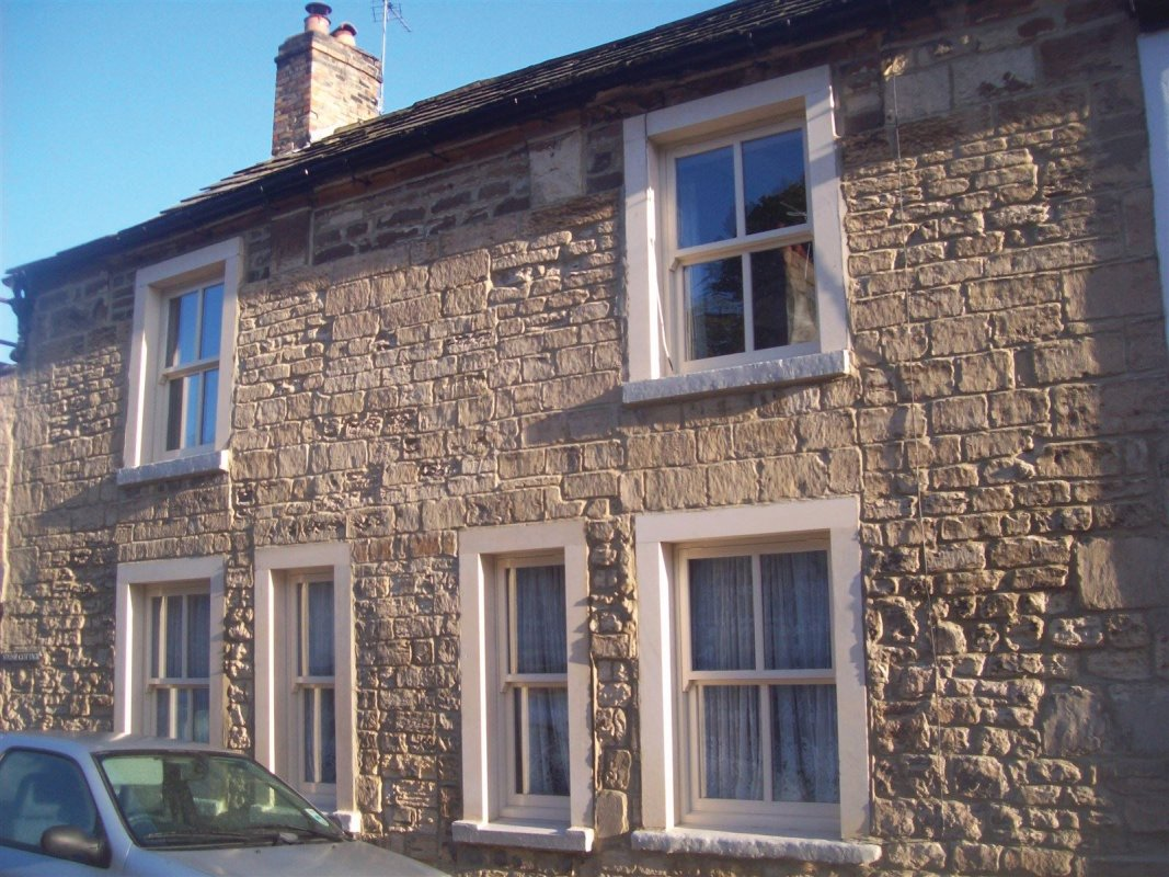 repointed lime stone in bramham near wetherby