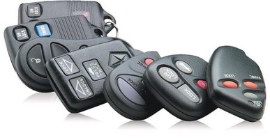 Various Automotive Remotes
