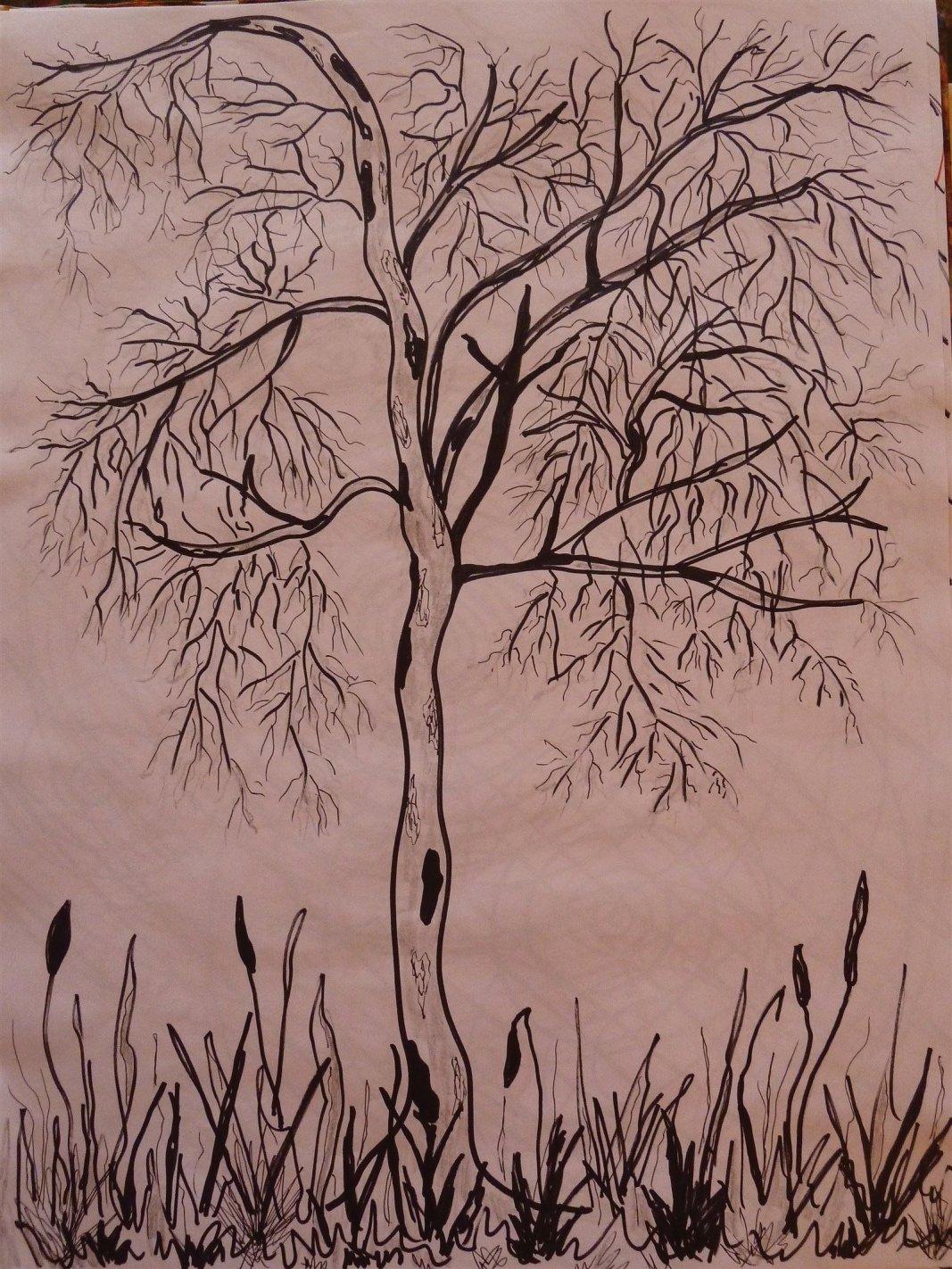 Baum-Symbol: Birke in der Kunsttherapie