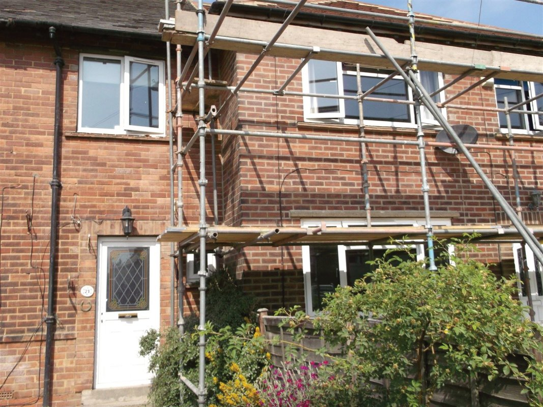 repointing of a brick property on victoria crescent pudsey