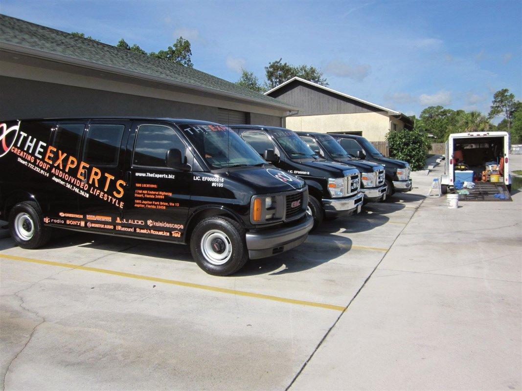 a fleet of vehicles i clean every week