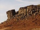 Higger Tor - Burbage valley - a great overhanging rock climb!