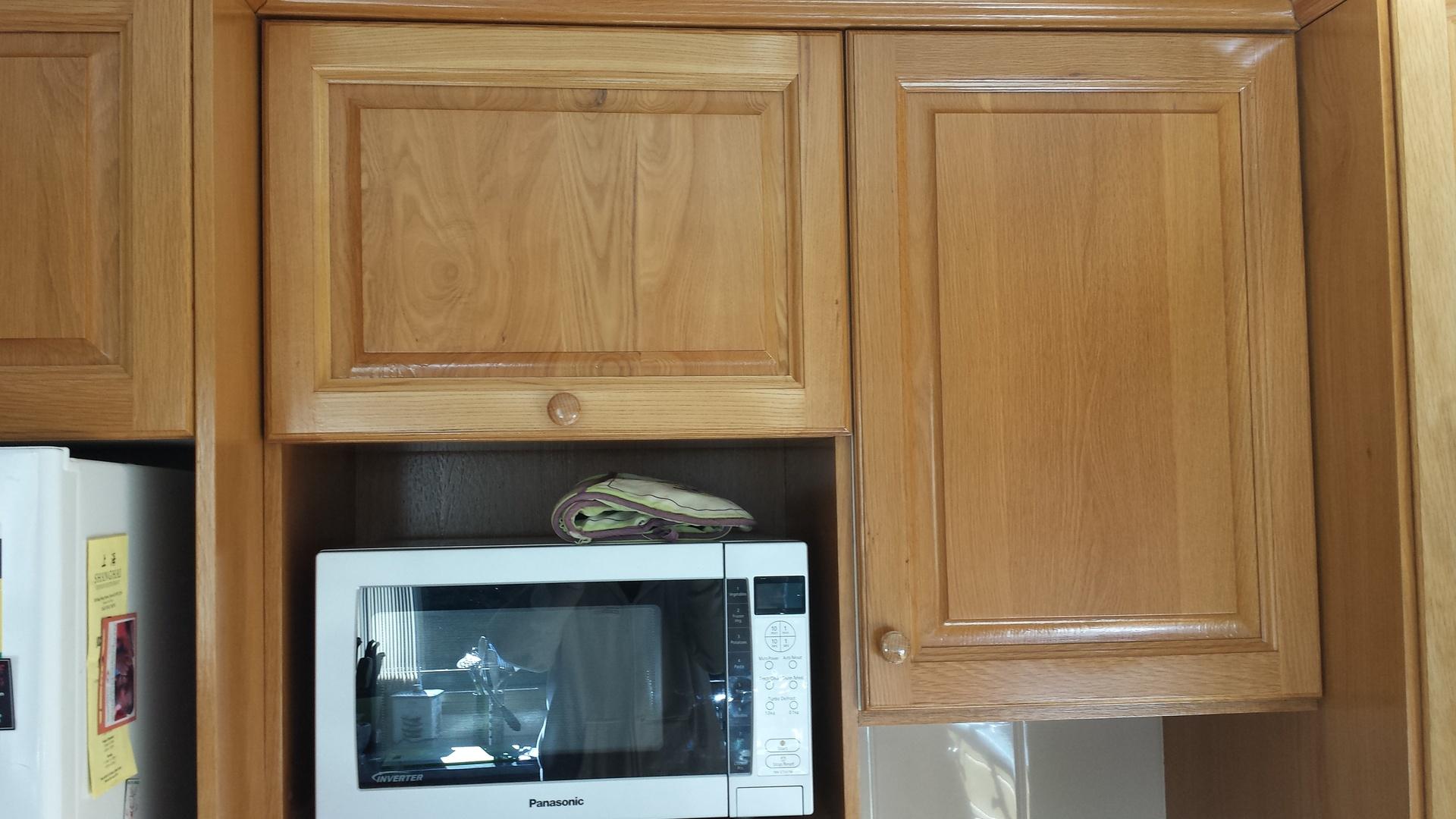 American Oak Kitchen Cupboards