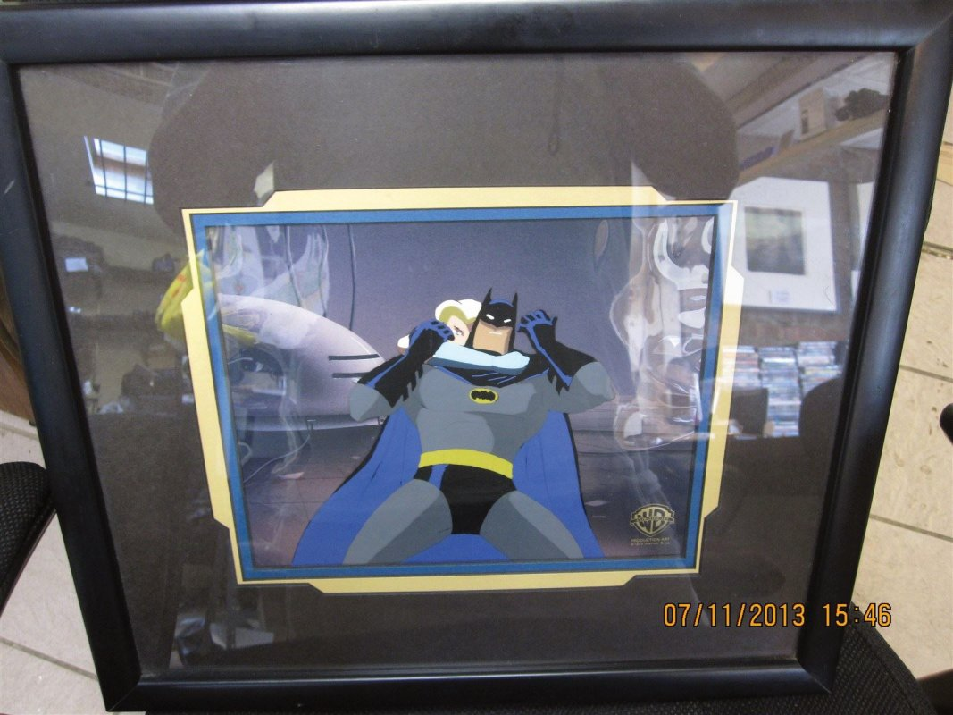 Sold DC batman cell. We have collectibles gives us a call