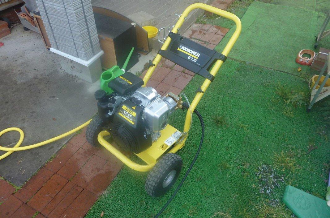これがあれば、外壁洗浄、配水管洗浄、コンクリ洗浄、なんでも掃除可能
