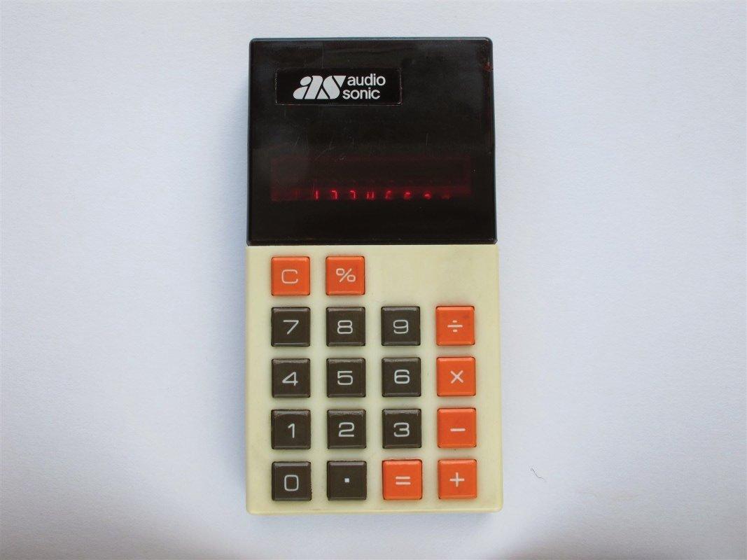 AudioSonic Pocket LED calculator