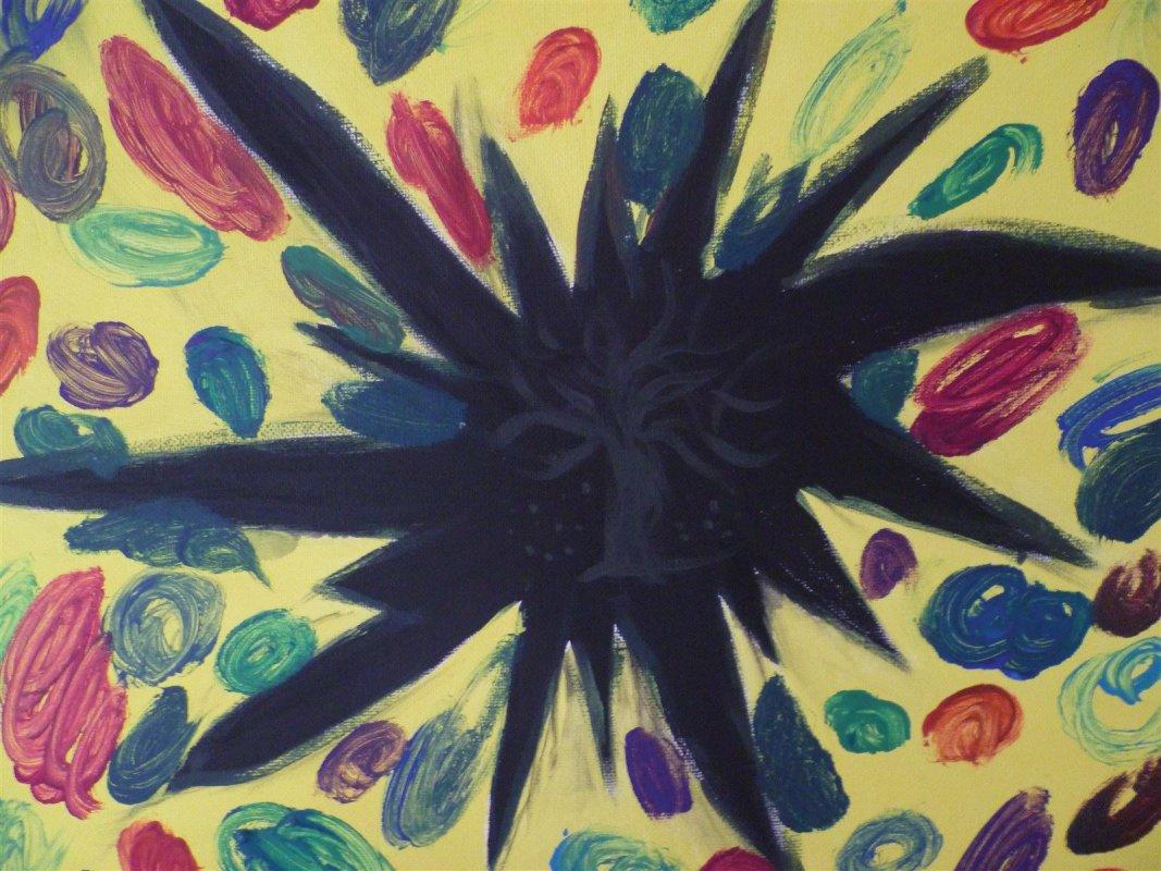 Chaos- Trennung - Praxisbeispiel in der Kunsttherapie