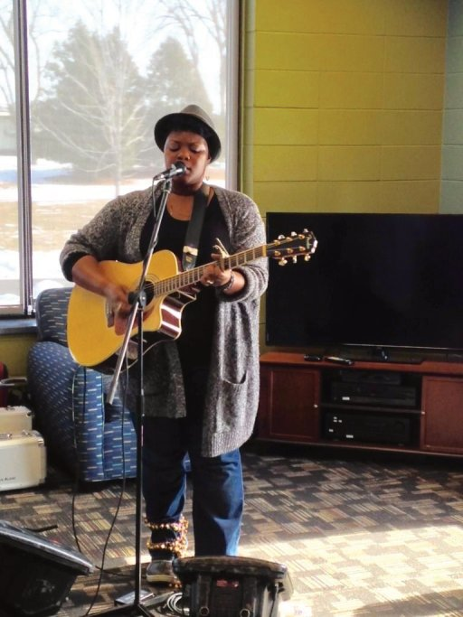 Kyshona Armstrong at Fox Valley Technical College, Oshkosh Campus Commons