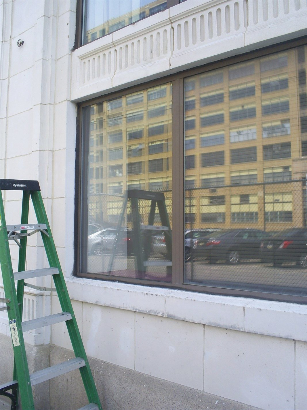 completed glass replacement in center city philadelphila
