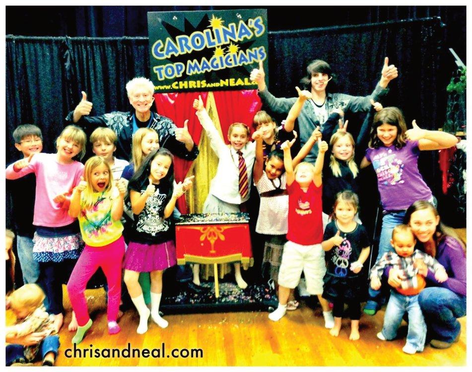 Children's Party Entertainers Goldsboro NC Magician