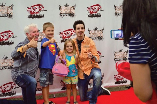 Red Carpet Experience with Kids Show Magicians Chris and Neal in Raleigh, North Carolina