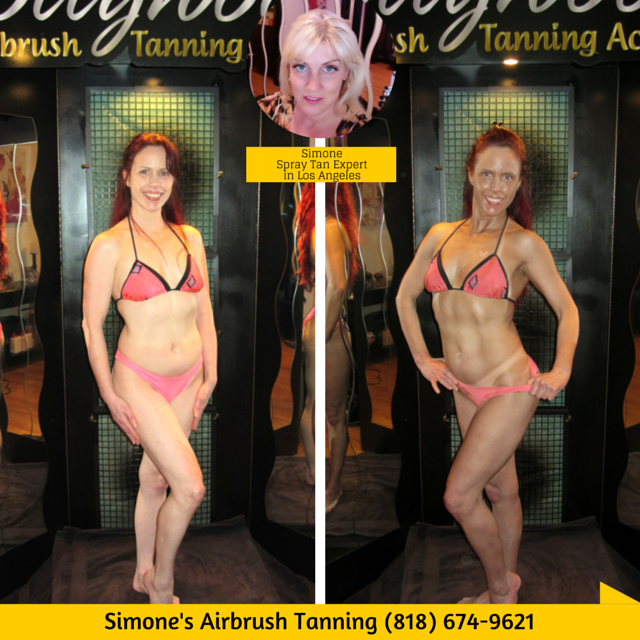Spray Tanning in North Hollywood