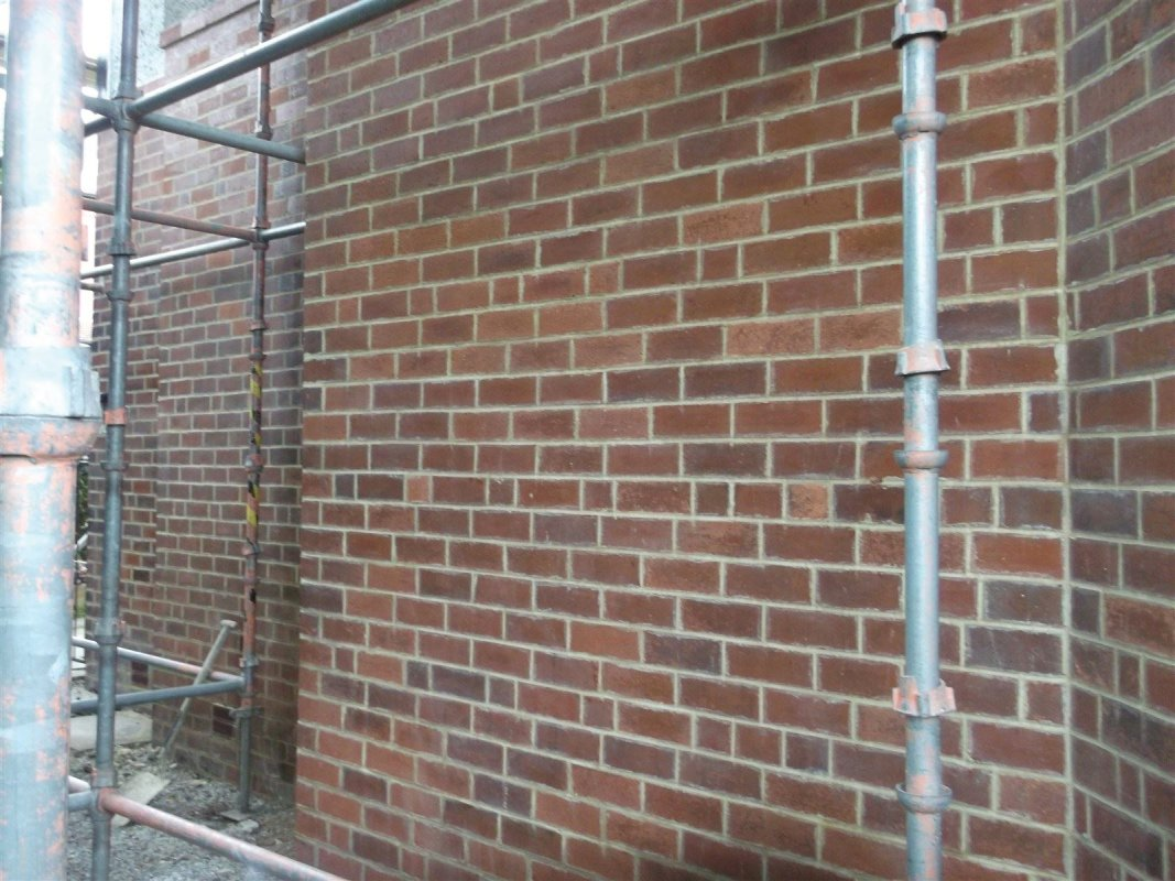 repointed brick work all works carried out by leeds pointing 01138080784