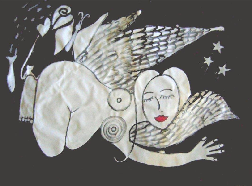 Dream Angel Painting