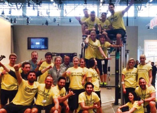 Das Personal Trainer Team auf der FIBO 2014
