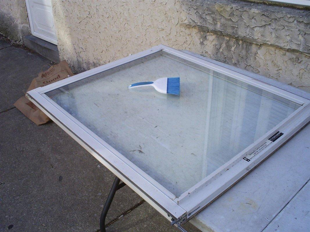 Philadelphia Pa glass repair - new glass installed