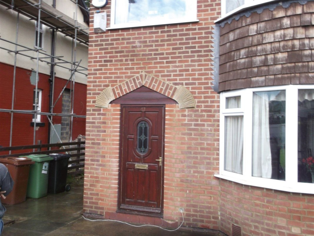 repointed brick work in leeds 9 all works carried out by leeds pointing