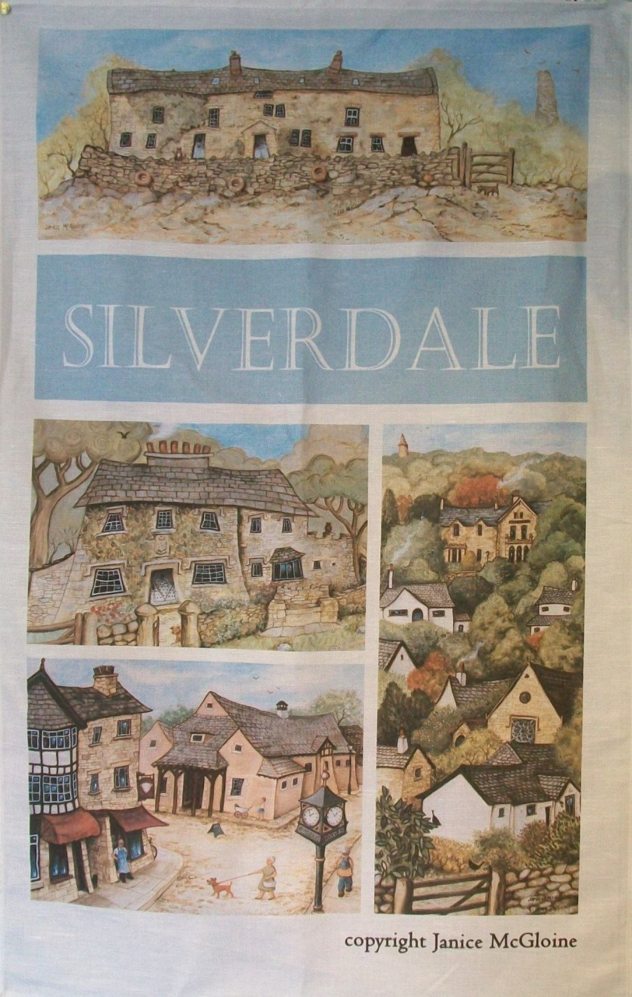 Silverdale Tea Towel