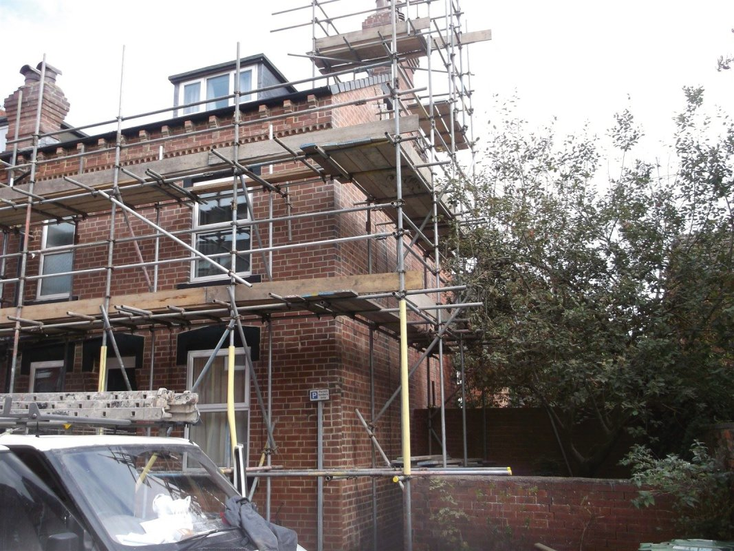 the repointing of brickwork all work carried out by leeds pointing