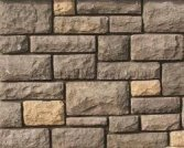 Cultured stone with mortar