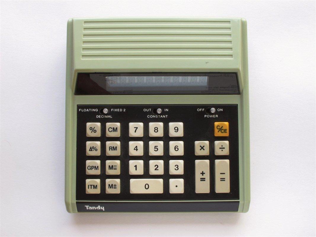 Pocket LED calculator