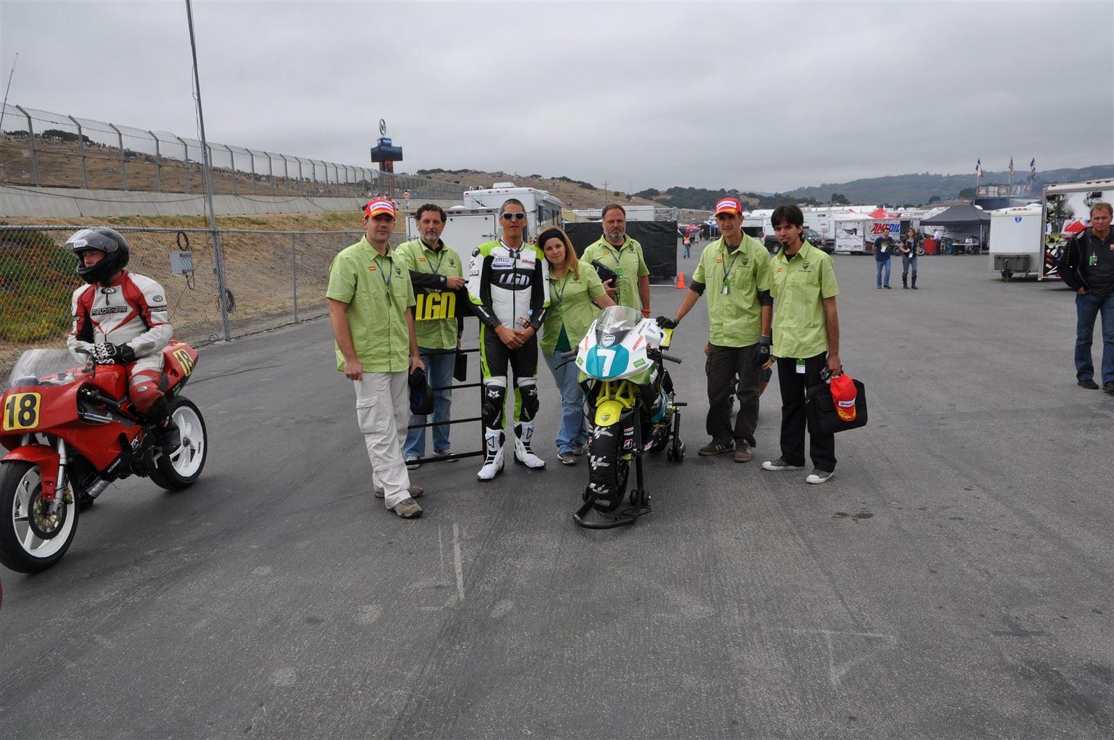 Team LGN race day