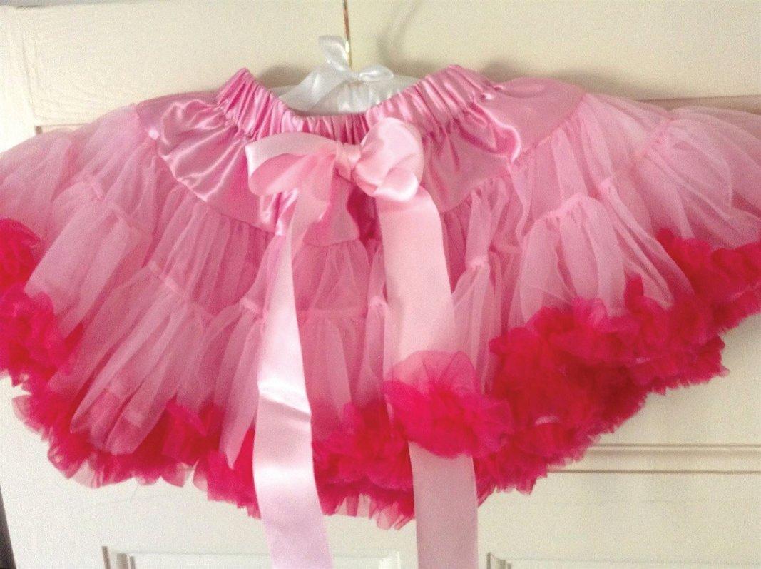 Pink and fucsia pettiskirt tutu
