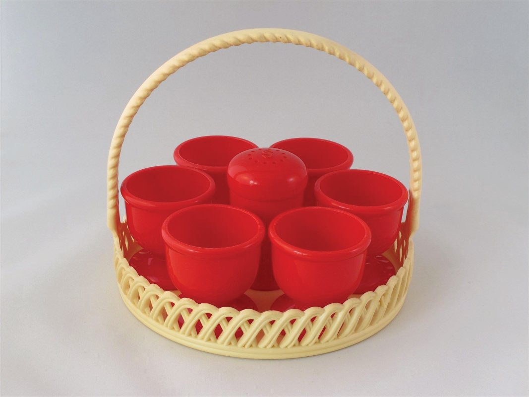 Emsa vintage plastic egg holders
