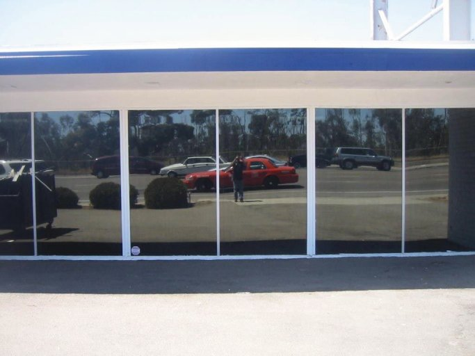 After with 5% Window Tinting Store front