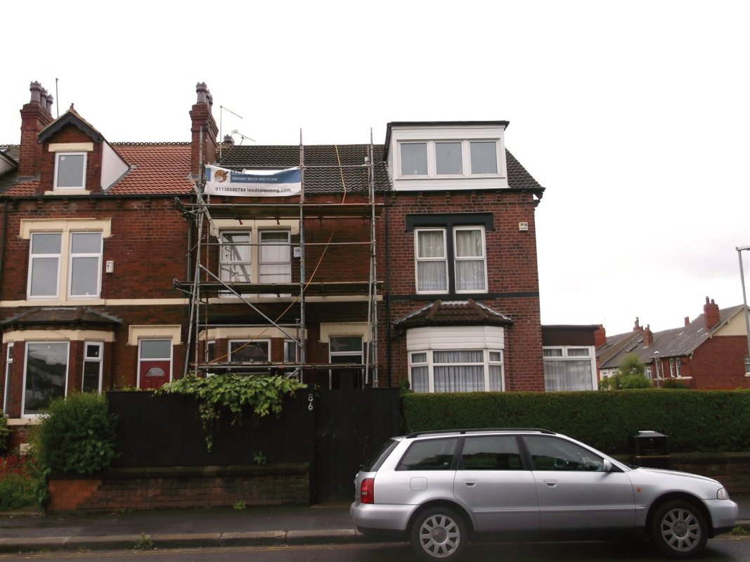 repointing of brick work  all work carried out by leeds pointing