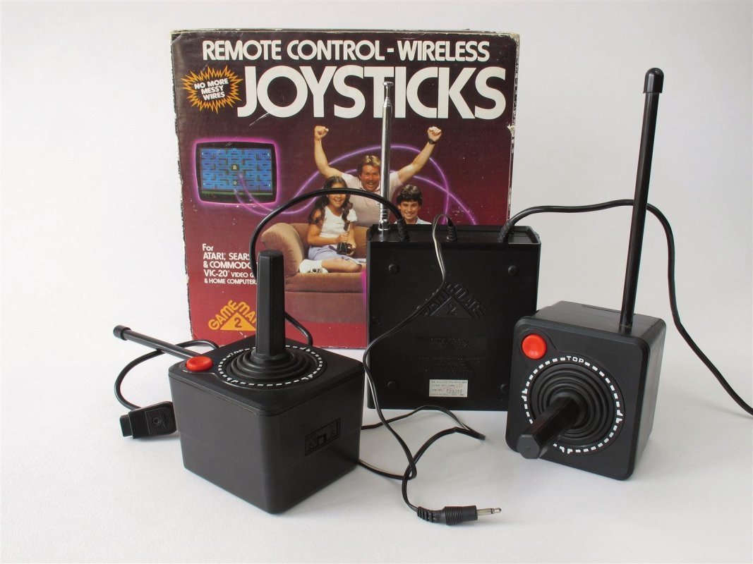Atari 2600 Wireless Joysticks, boxed