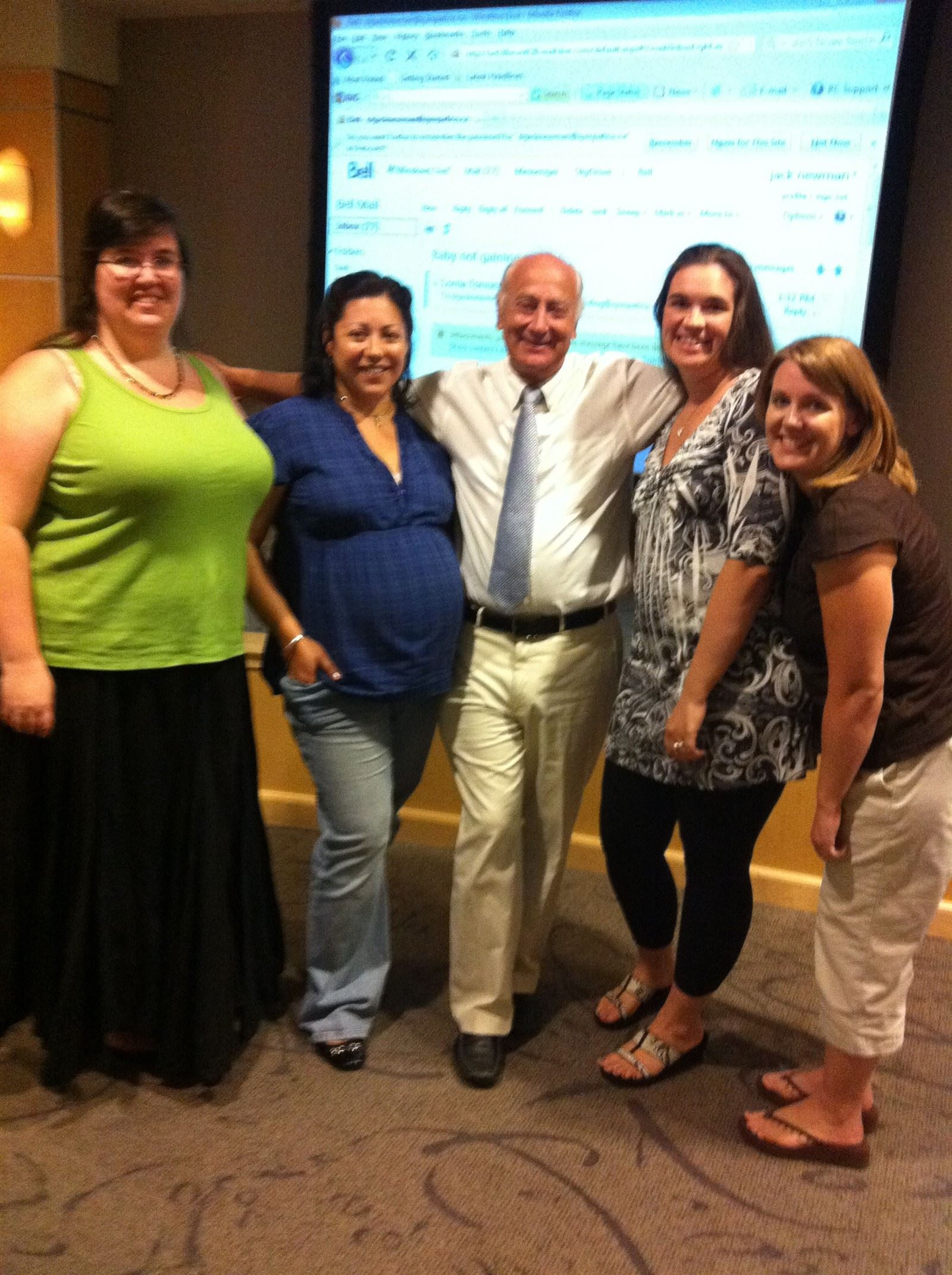 Dr. Jack Newman : Four instructors who teach The Bradley Method® got to attend his seminar in Mesa, AZ.