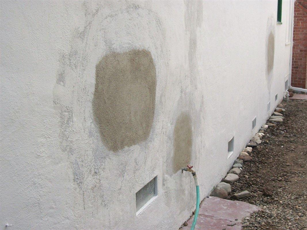 Handyman services - Stucco repair