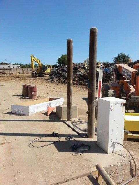 Equipment install