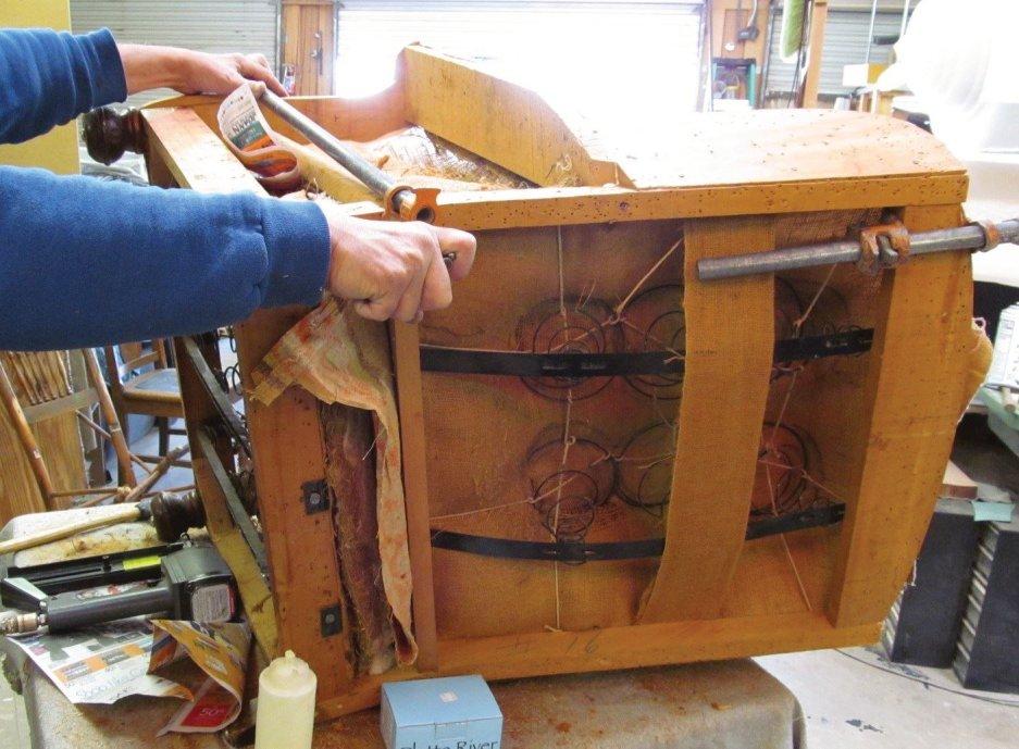 Chair frame repair